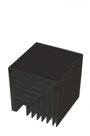 Nesting Shelves x 7 - black