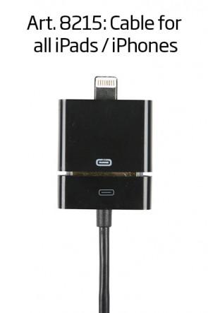 Kabel für alle iPhones / iPads