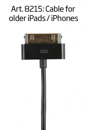 Cable for old type iPad/tablet