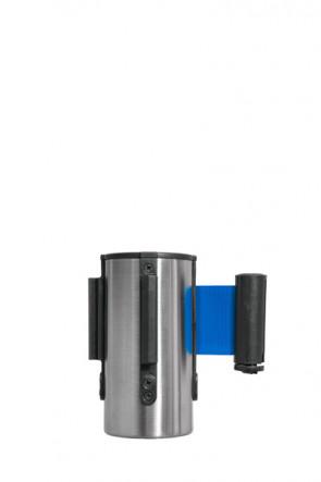 Crowd control belt dispenser top, blue