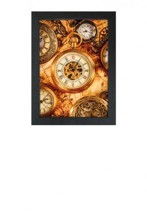 Crown Snap Frame 33 mm (G), 50x70cm, Schwarz