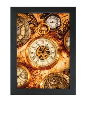Crown Snap Frame 33 mm (G), 70x100cm, Schwarz