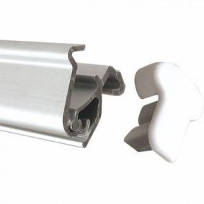 Topprofile mit Klemmleiste für Roll-Up Easy 80cm